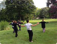 Wellness Tai Chi Qigong class at Leeds Uni