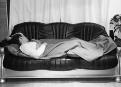 sleeping-on-the-sofa-with-AS-BW