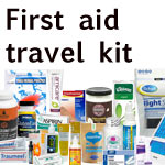 How to stay healthy while traveling, my natural first aid travel kit